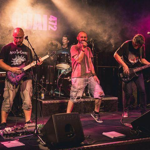 groupe rock amateur en scène ouverte dans le rhône