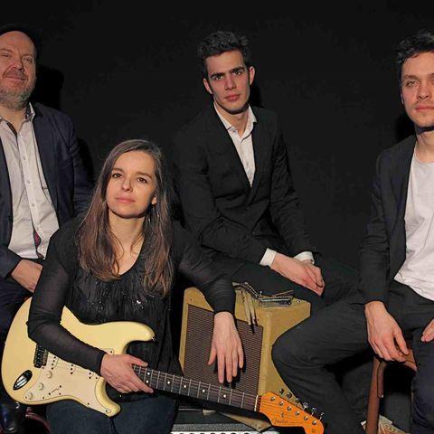 Sophie Malbec Blues Band en concert dans la salle de spectacle du Quai
