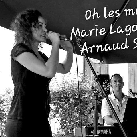 concert de chanson française à villefranche avec Marie Lagoutte et Arnaud Silano, en première partie Kate William & the Queen