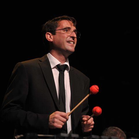 le vibraphoniste de jazz Cédric Perrot en concert