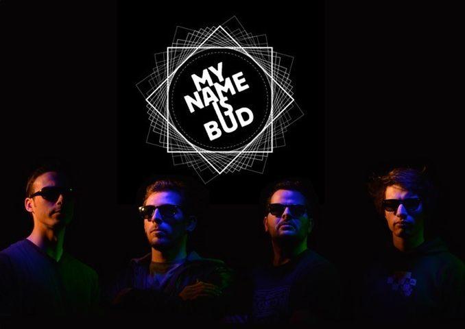 concert de musique electro rock du groupe My name is bud dans le beaujolais