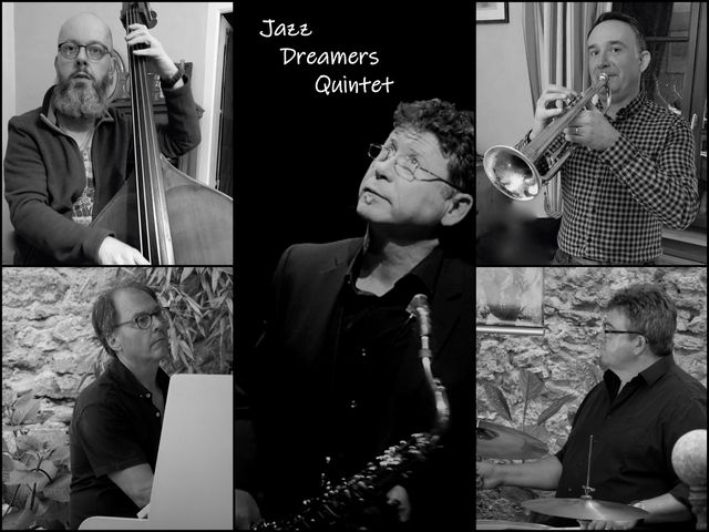 les Jazz Dreamers sur la scène du Quai 472 pour la journée internationale du Jazz