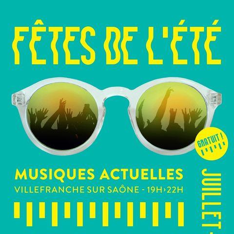 L'équipe technique du Quai 472 assure la regie du Festival des Fêtes de l'été à Villefranche en partenariat avec le service culturel de la ville