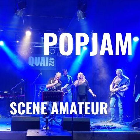 les soirées popjam sont des scènes ouvertes à tous les amateurs à Villefranche sur Saône